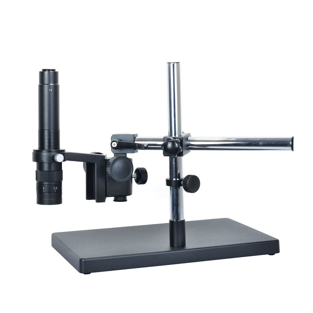 Heavy Duty Dual-Arm Metal Boom Stereo Microscope Table Stand