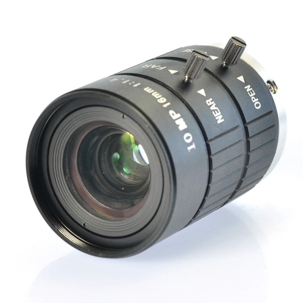 Industrial Camera Fixed Manual IRIS Focus Zoom Lens